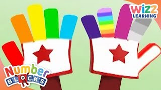 Numberblocks - Counting With Your Hands | Learn to Count | Wizz Learning