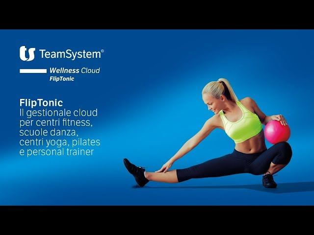 Homepage - TeamSystem Wellness Cloud FlipTonic