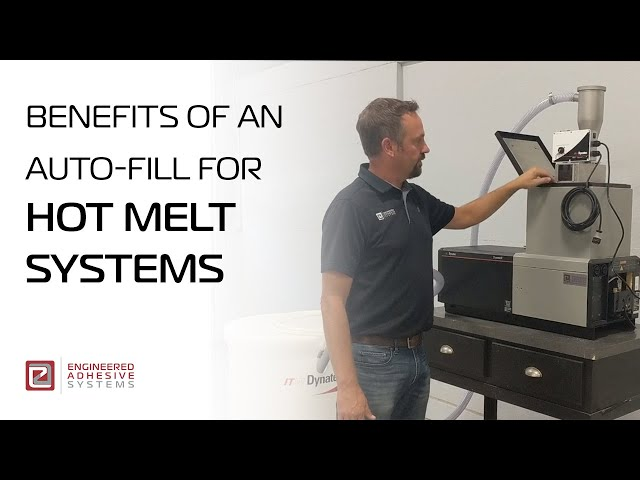 Benefits of an Auto-Fill For Hot Melt Systems.