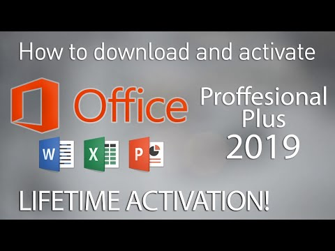 How to Get Microsoft Office 2019 Professional Plus Full Version for Free (Lifetime Activation)