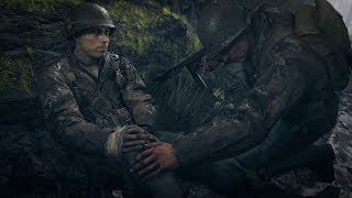 Call of Duty WW2: Hill 493 Campaign Mission & Turner