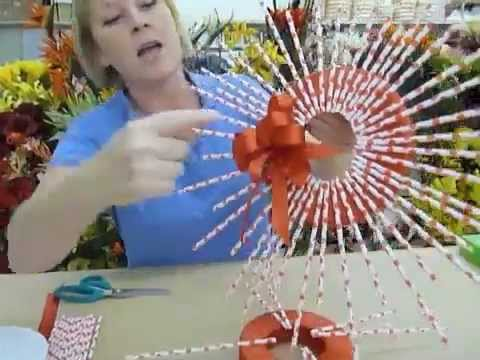 Crankin Out Crafts Ep188 Straw Wreath Youtube