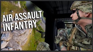 I Led An AIR ASSAULT Infantry Squad Against Enemy Bases!