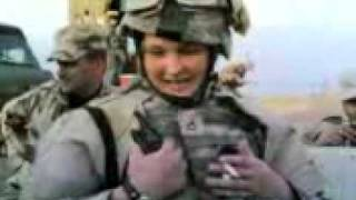 woman usa army crazy in iraq