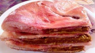 Осетинский пирог с мясом! Очень вкусно!