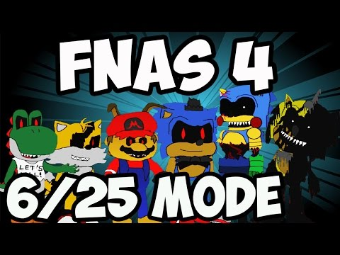 FIVE NIGHTS AT SONIC'S 4 - 6/25 CHAOS CHALLENGE REVISITED   LAST PLUSHIE? - 5 NIGHTS AT SONIC'S 4