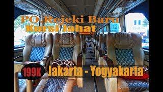 Bus Nyaman || Rejeki Baru Jakarta - Yogyakarta