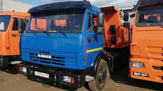 КАМАЗ 65115 - из самосвала в самосвал
