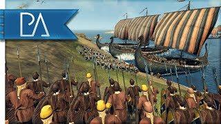VIKINGS LAY SIEGE TO NORTHUMBRIA - Total War: Saga: Thrones of Britannia Gameplay