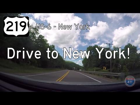 US Highway 219 - US Highway 6 - New York - Pennsylvania | Drive America