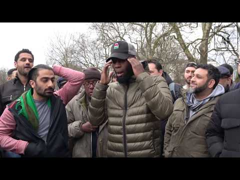 Double Edged Sword Strikes Extremists In Hyde Park [Speakers Corner]