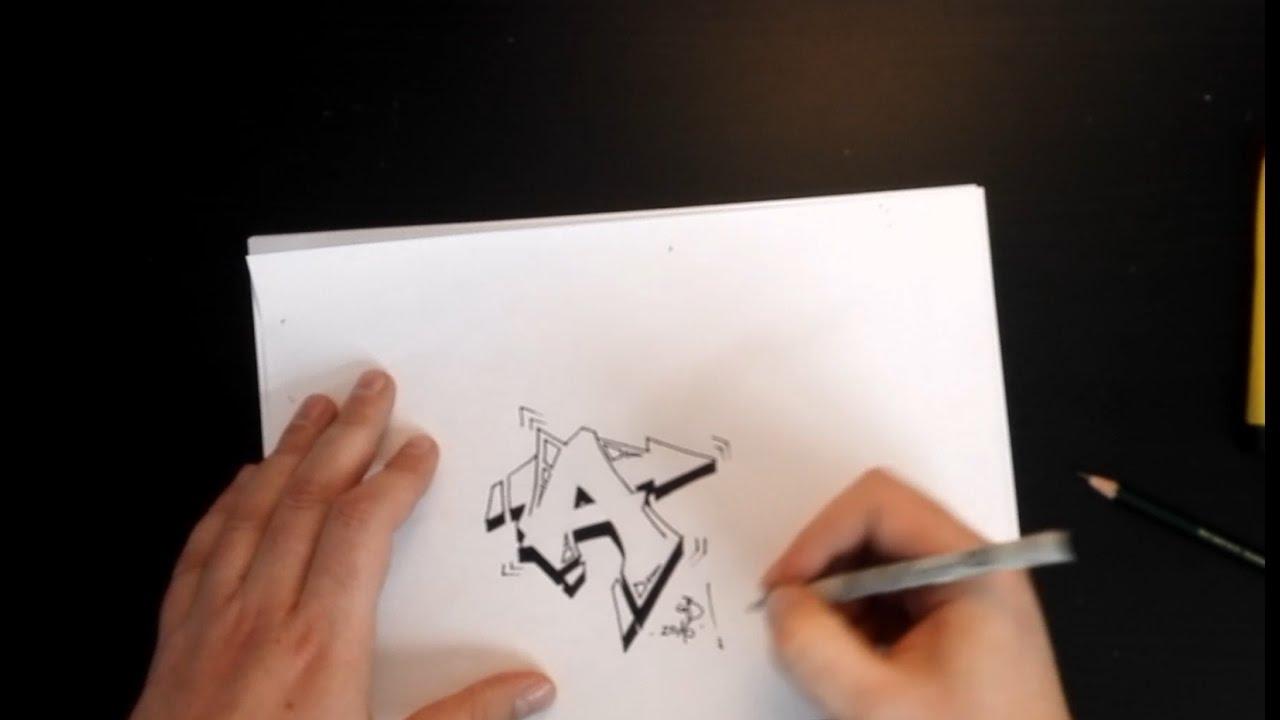 Graffiti A Zeichnen How To Draw Graffiti Buchstaben