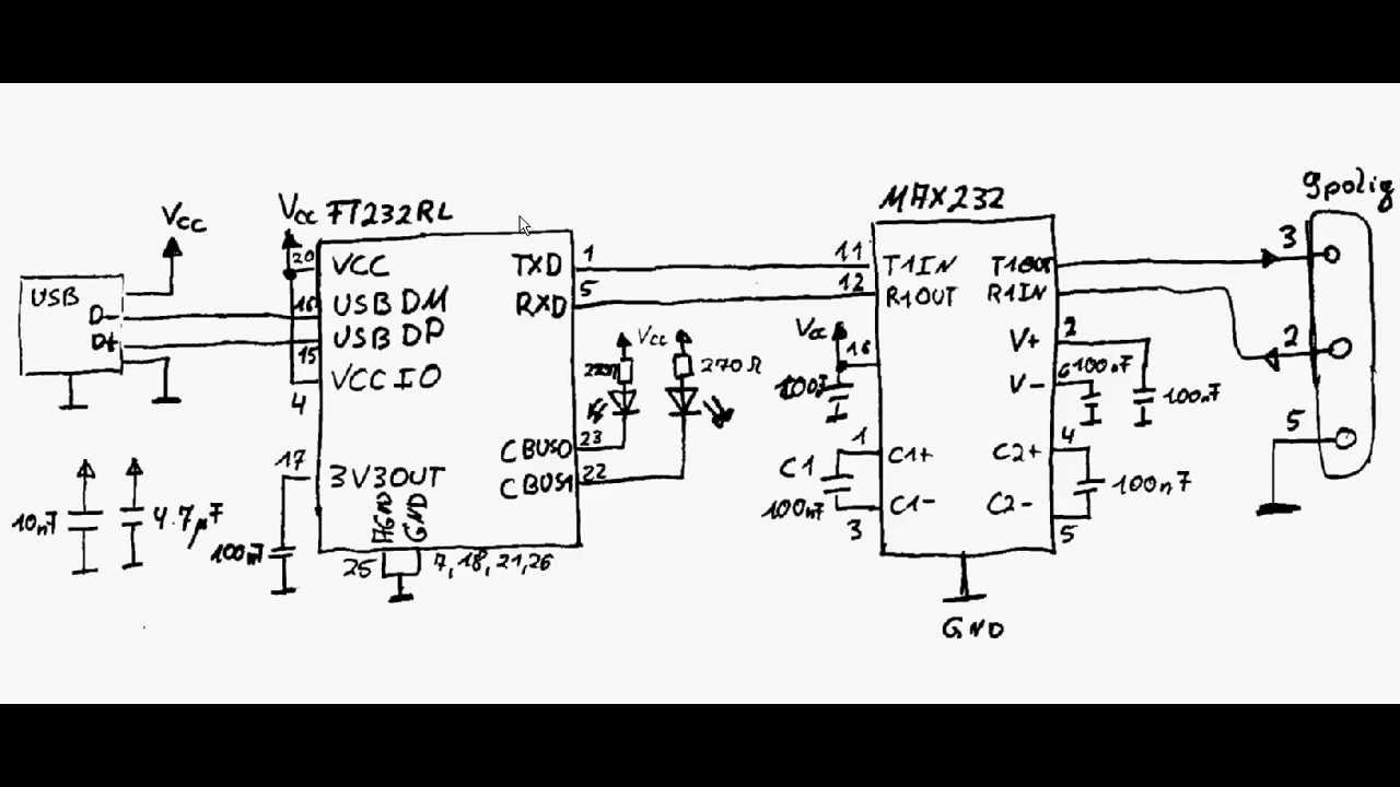 altiumdesigner usb rs232 converter 1 [ 1280 x 720 Pixel ]