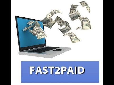 Earn Money Online Free (just By Clicking ads) (Fast2paid.com)