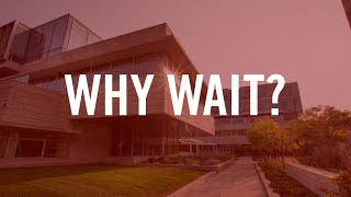 Why Wait? Your MBA Future Is Now