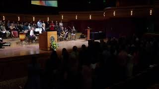 Notre Dame Commencement 2018: Sister Norma Pimentel at the Service Send-Off