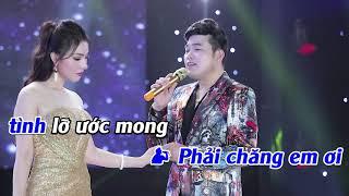 Karaoke | Định Mệnh Buồn - Hoa Hậu Thanh Thư & Khánh Bình