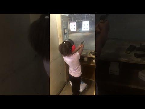 Kids Learn to Shoot at Gun Range || ViralHog
