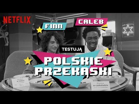 Aktorzy Stranger Things Testują Polskie Przekąski | Netflix