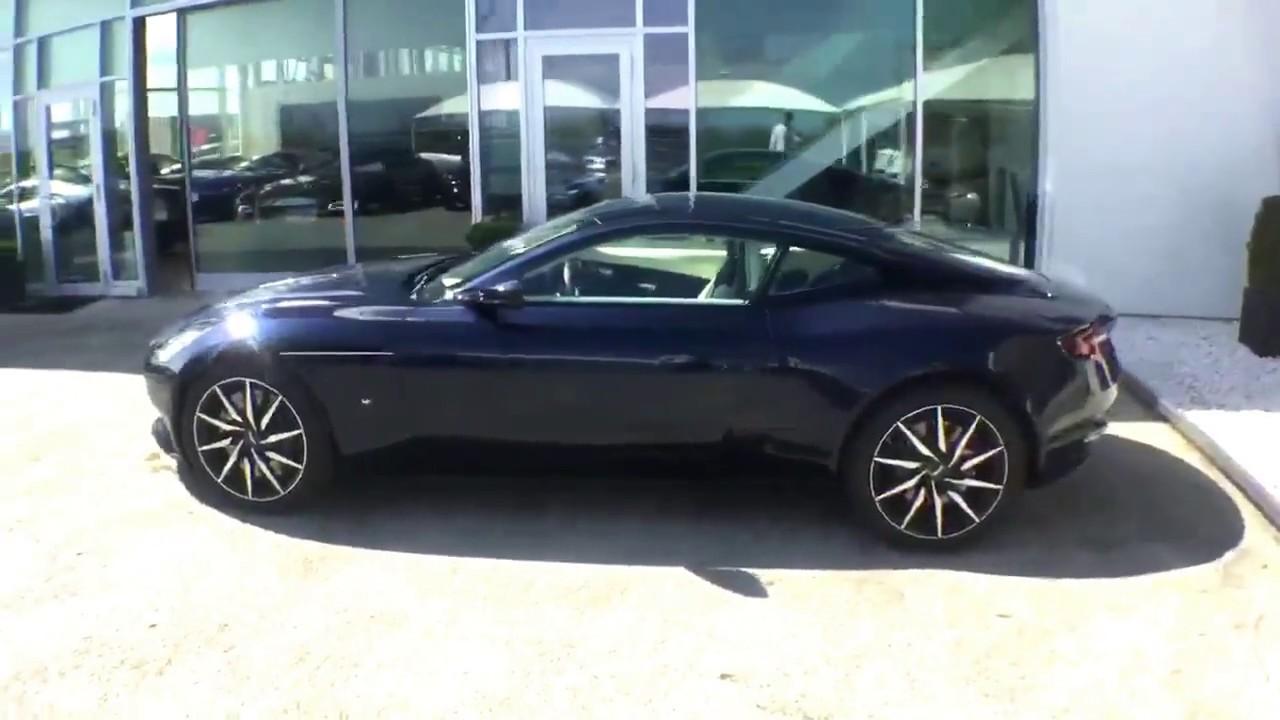 Aston Martin Geneva Db11 Midnight Blue Prestige Motor Group Nyon Youtube