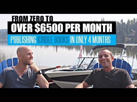 From Zero To Over $6500 Per Month Publishing Kindle Books In Only 4 Months
