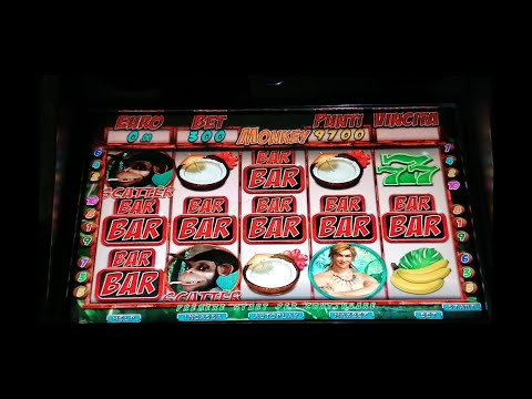 SLOT MACHINE DA BAR A MONETA MONKEY DELLA VITAL GAMES