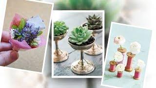 30+  DIY Ideas for Creative Floral Arrangements