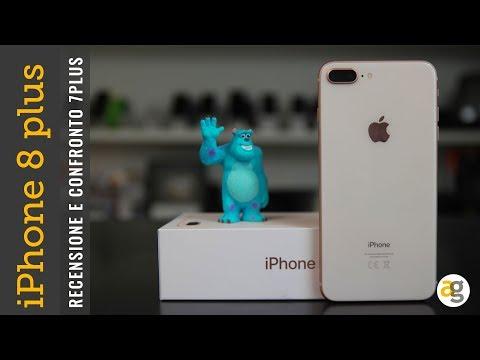 RECENSIONE iPhone 8 plus e CONFRONTO iPhone 7 plus