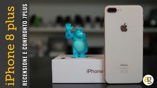RECENSIONE iPhone 8 plus e CONFRONTO iPhone 7 plus