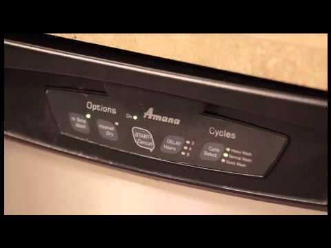 Amana dishwasher Recall problem.mov