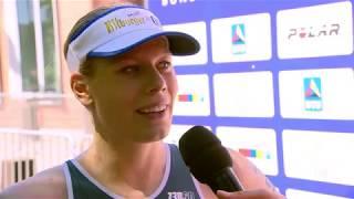 Deutsche Meisterschaften Triathlon 2018: Laura Lindemann im Interview
