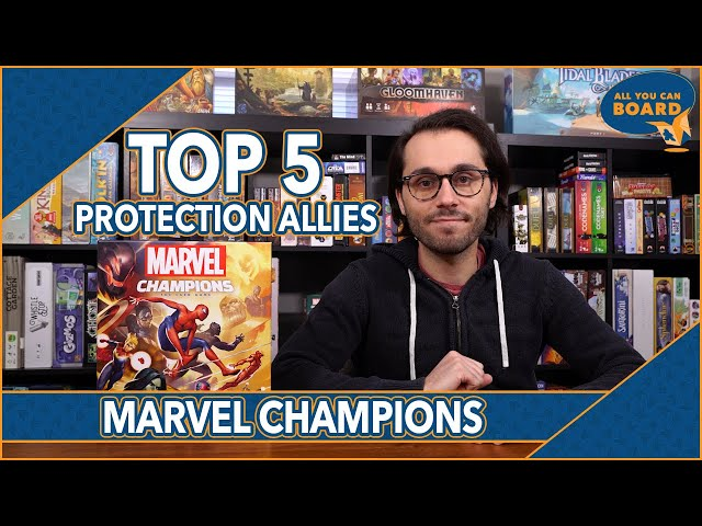 My Top 5 PROTECTION ALLIES | Marvel Champions