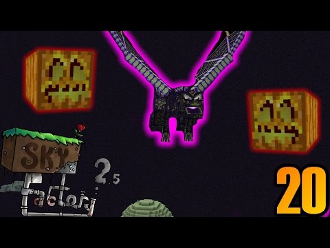 Minecraft: Sky Factory 2.5 - Ep. 20 | Two Different EnderDragons :0