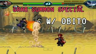 Grab Summon Special Compilation w/ Obito - Bleach vs Naruto 3.3 APK