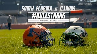 #BULLSTRONG: Inside USF Football - Game Story || at Illinois