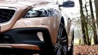 Testbericht VOLVO V40 Cross Country D3 - Neu/New Roadtest Video Review - Engine Report