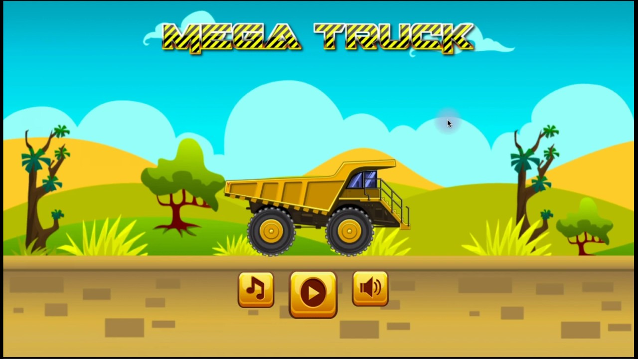 Монстр трак! Онлайн игра для детей. - YouTube