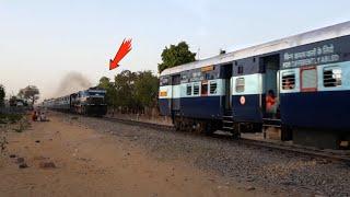 Heavy Diesel Trains Traffic on Single line   Jaipur - Sawai Madhopur Rail Route.