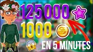 GAGNER 1000 STARCOINS ET 125 000 FAMES EN 5 MINUTES ! *NO FAKE*