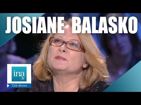 Interview par amour Josiane Balasko - Archive INA