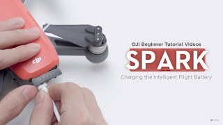 How to Charge DJI Spark Battery (Beginner Tutorial)