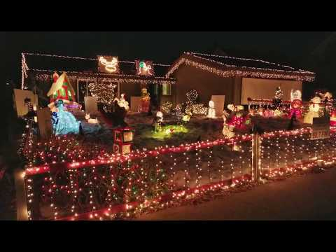 WATCH: Synchronized musical Christmas light show at Citrus Heights home