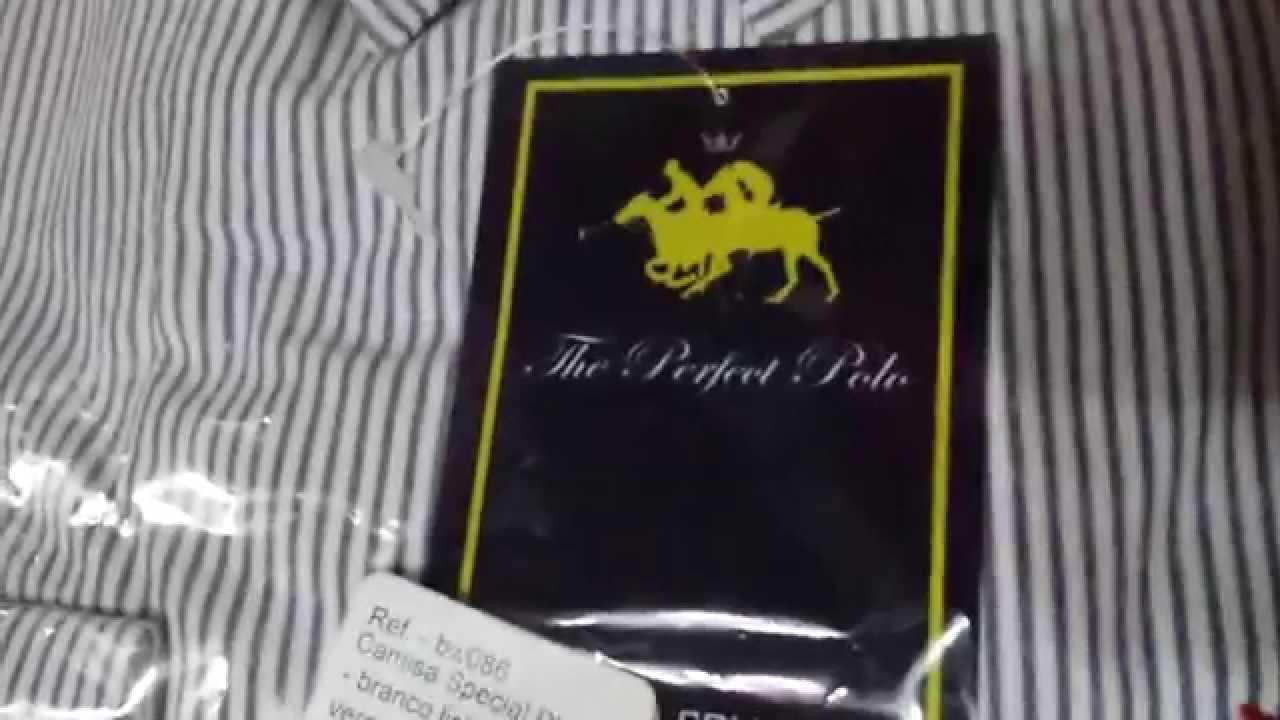 90417788de7cd Unboxing Submarino - Camisa Social Polo Club Collection - Shirt Social Polo  Club Collection