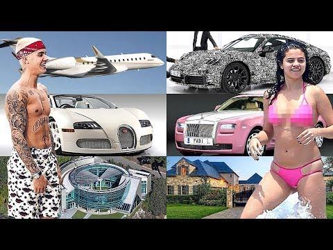 The Rich Life Of Justin Bieber vs Selena Gomez 2018