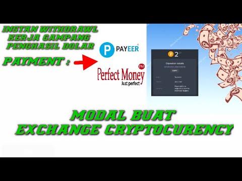 Terbukti Membayar Gratisan Penghasil Payeer Dan Perfect Money || Modal Buat Cryptocurenncy