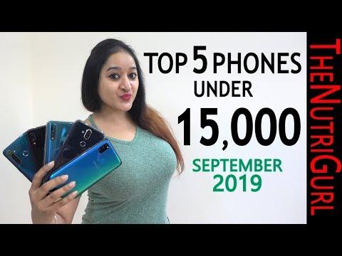 Top 5 Phones Under 15000 In SEPTEMBER 2019