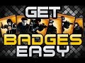 How to Easily get Steam Badges- BEST METHOD 2015