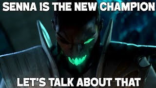 The new champion is Senna - let's talk about what that means