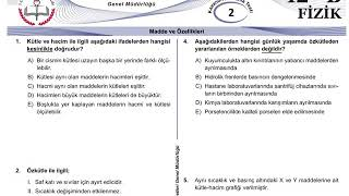 12+Mezun Fizik Meb Kazanım Testleri-2