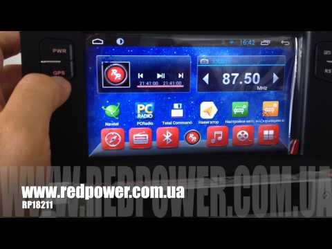 Citroen DS4. Штатная магнитола Android 4.2.2 Redpower 18211 Carpad Duos 3.